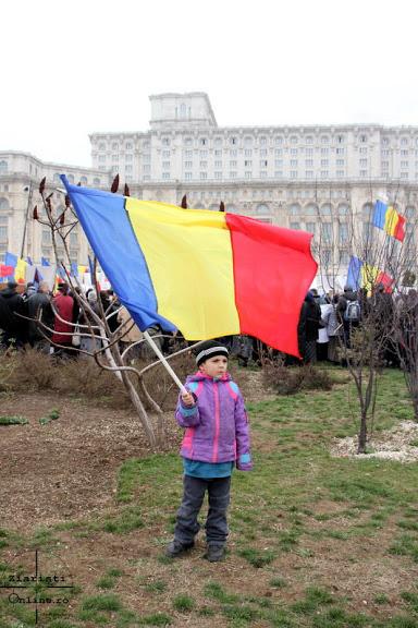 Miting anti-cip la Parlament 14.03.2013