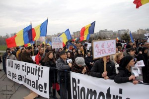 Miting anti-cip la Parlament 14.03.2013